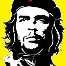 Che Guevara yellow background by tqueen