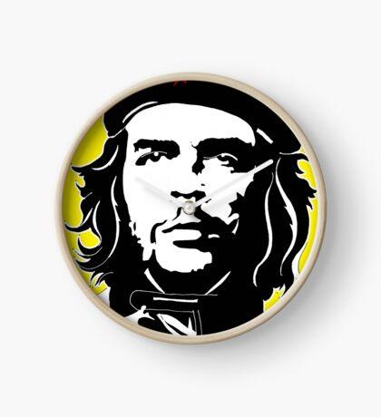Che Guevara yellow background Clock