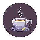 Cup of Tea Games Official T Shirt - DESIGN #2 by CupofTeaGames