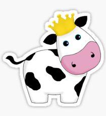 King Cow Sticker