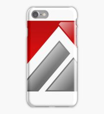 abstract-logo-A-alphabet iPhone Case/Skin