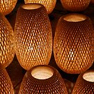 Wicker Lamps.  by Michael Stocks