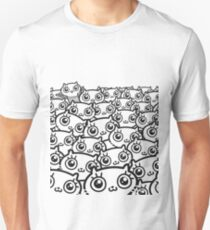 Crazy Cat Lady Dreams (b/w) Unisex T-Shirt