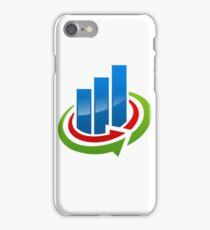 business-chart-grow-logo iPhone Case/Skin