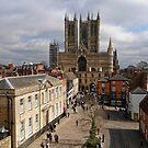 Lincoln Old Town by Mark Baldwyn