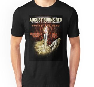 August Burns Red t shirt album Lost Messengers The Outtakes design ...