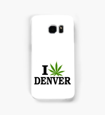 I Love Marijuana Denver Colorado Samsung Galaxy Case/Skin