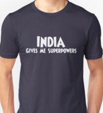 India Superpowers T-shirt Unisex T-Shirt
