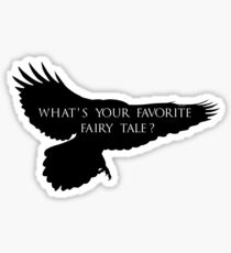 What's your favorite fairy tale? Sticker