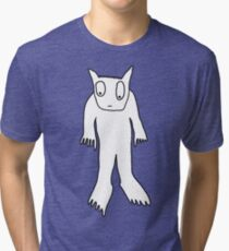 Carl is worried but fluffy Tri-blend T-Shirt