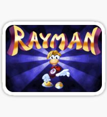 Rayman (Jaguar Title Screen) Sticker