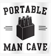 6 Pack - Portable Man Cave Poster