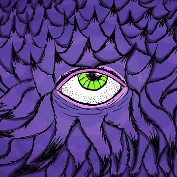 Purple Open Eye by djmascit