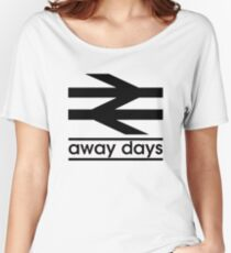 Away Day Culture Women's Relaxed Fit T-Shirt