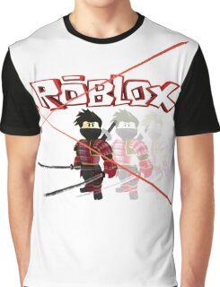 Roblox Lazer Ninja Graphic T-Shirt