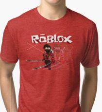 Roblox Lazer Ninja Tri-blend T-Shirt