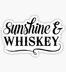 Sunshine and Whiskey Sticker