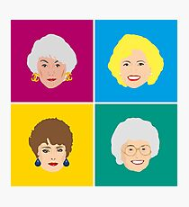 The Four Golden Girls Art Print  Photographic Print