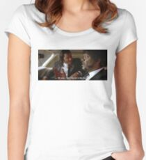 Oh Man, I Shot Marvin In The Face (Pulp Fiction) Women's Fitted Scoop T-Shirt