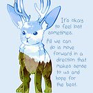 """""""It's Okay to Feel Lost"""" Jackalope by thelatestkate"""