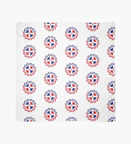 Dominican American Multinational Patriot Flag Series Scarf