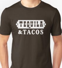 Tequila and Tacos Unisex T-Shirt