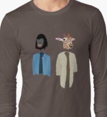 Dirk Gently Vector Long Sleeve T-Shirt