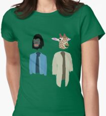 Dirk Gently Vector Women's Fitted T-Shirt