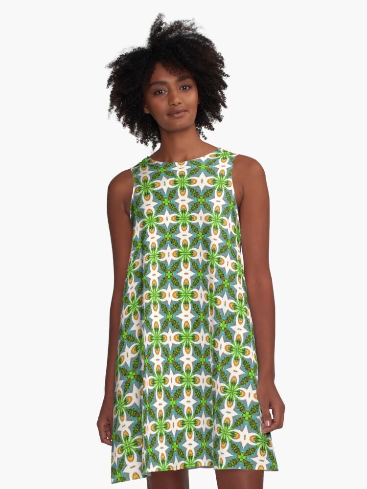 Vivian A-Line Dress Front