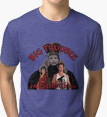 """Big Trouble"" Tri-blend T-Shirt"