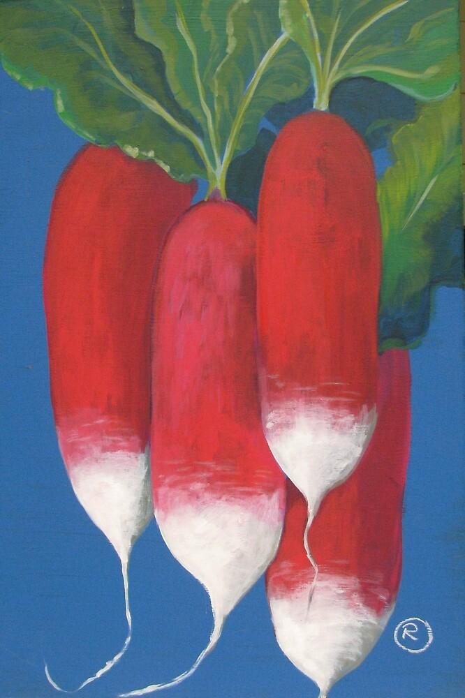 French breakfast radishes by RRedfield