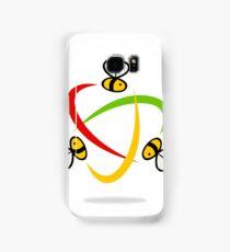 bee-flying-circle-logo Samsung Galaxy Case/Skin
