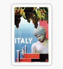 Vintage 1930s Italy Italian travel Sticker