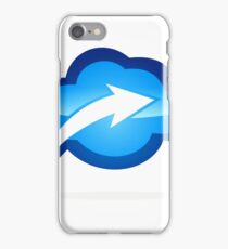 cloud-with-arrow-logo iPhone Case/Skin
