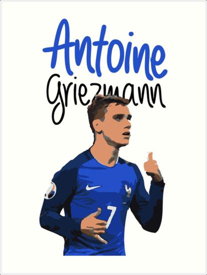 Antoine Griezmann von BoulterDesign