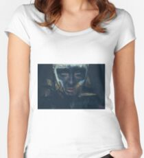Faux Women's Fitted Scoop T-Shirt