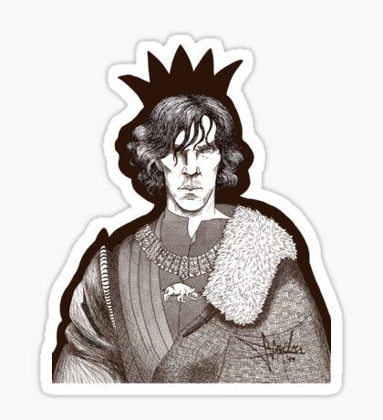 The Hollow Crown - Shakespeare's Richard III (brown) Sticker