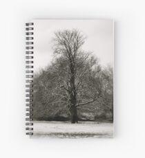 Boxmoor snow  Spiral Notebook