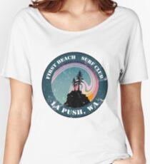 First Beach Surf Club Women's Relaxed Fit T-Shirt