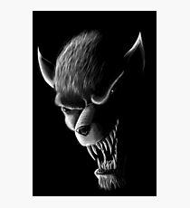 Werewolf Photographic Print