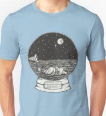 Mermaid Snow Globe  Unisex T-Shirt