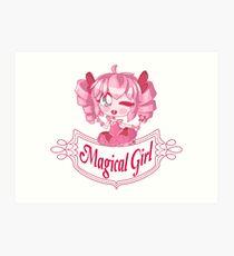 Magical Girl  Kunstdruck