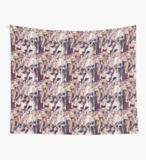Alissa Violet Collage Wall Tapestry