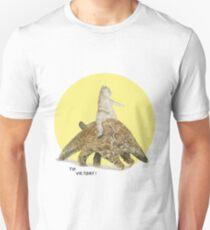 Cat and Pangolin by London designer Robert Clear Unisex T-Shirt