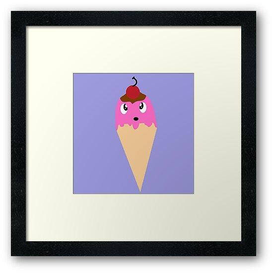 Amazed Ice Cream Cone by untamedcow