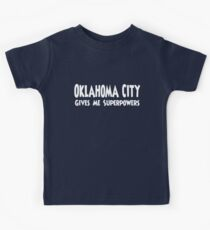 Oklahoma City Superpowers T-shirt Kids Clothes