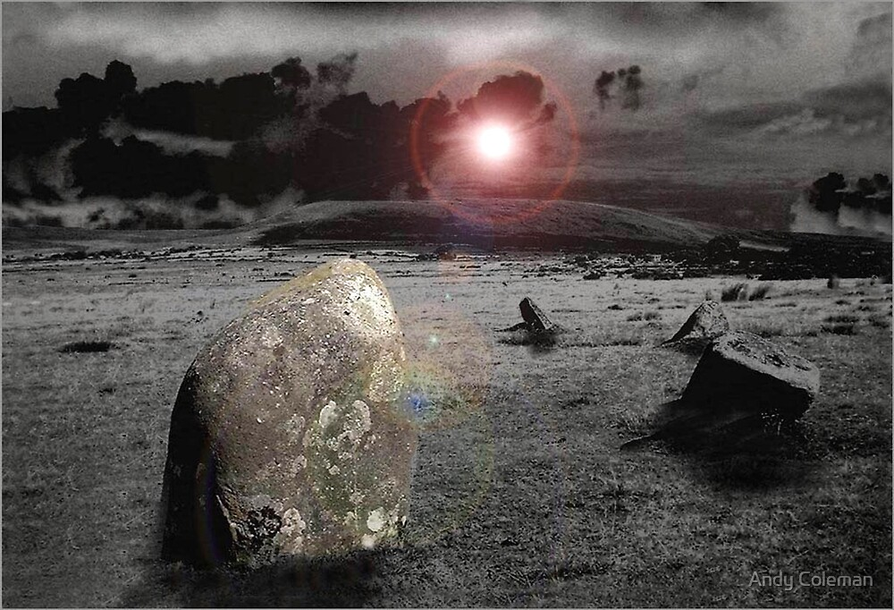 Gors Fawr Stone Circle by Andy Coleman