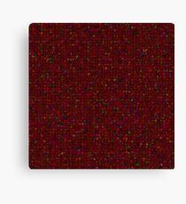 Antique Texture Garnet Red Canvas Print