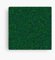 Antique Texture Emerald Green Canvas Print