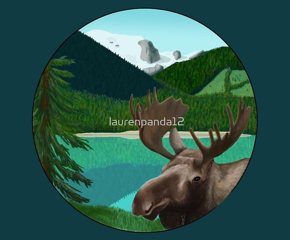 Moose in the wild by laurenpanda12